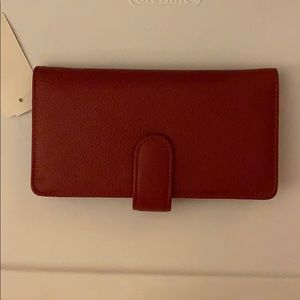 Buxton Genuine Red Leather Wallet New with Tag!!!